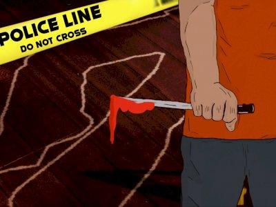 Cemburu Berujung Rebutan Ponsel, Suami Nekat Bunuh Istri Siri yang Sedang Hamil Tua