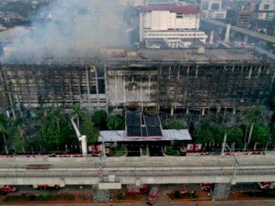 Terungkap Ini Hasil Pemeriksaan Cleaning Service Tajir Soal Kasus Kebakaran Kejagung