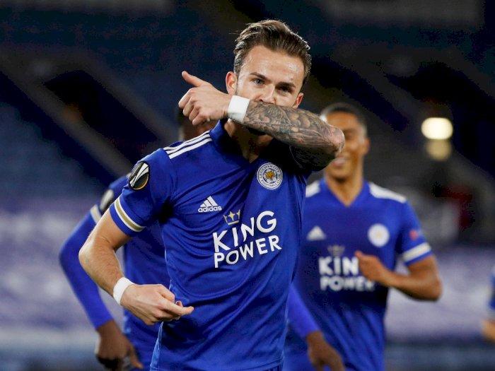 Hajar Zorya, Leicester City Kemas 3 Poin Dan Pemimpin Grup G Liga Eropa