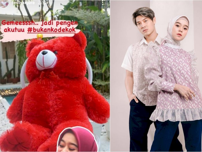 Lesty Ungkap Pengen Boneka Teddy Bear, Rizky Billar Langsung Gercep Belikan, Netizen Baper