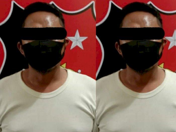 Siram Minyak Bensin ke Tubuh Wanita, Pria di Deli Serdang Akhirnya Diringkus Polisi