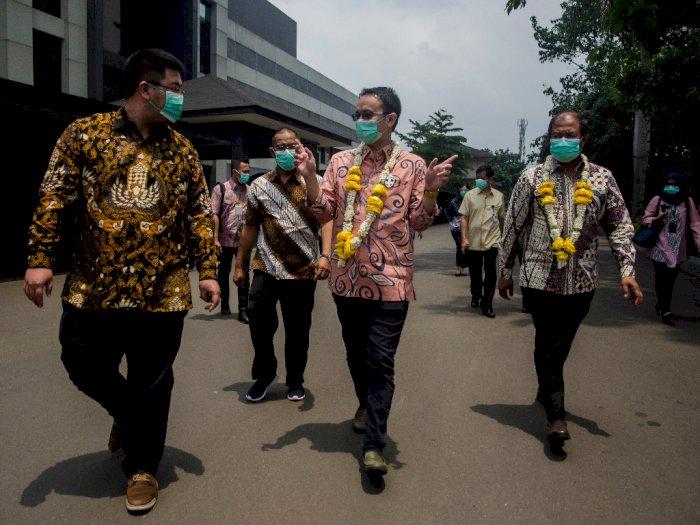 FOTO: Kunjungan Wamendag ke Pabrik Masker Cimahi