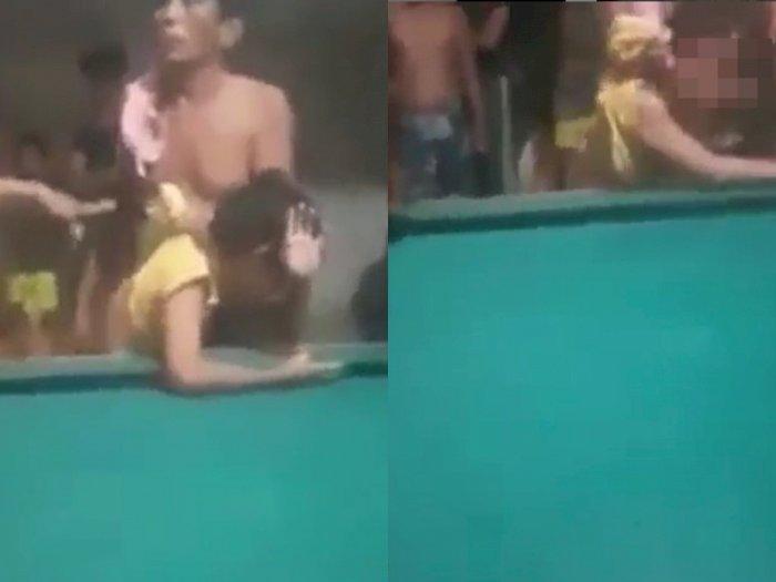 Video Anak Yatim Miskin Disiksa Pria 62 Tahun, Kepalanya Dibenturkan ke Meja Biliar