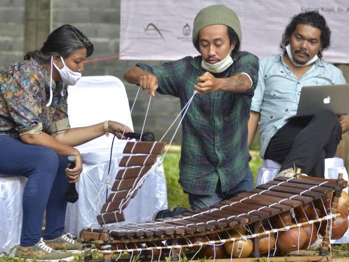 FOTO: Lokakarya Alat Musik Tradisional