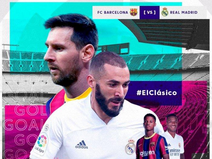 El Clasico Barcelona vs Real Madrid, Berikut Fakta Seputar Pertandingan