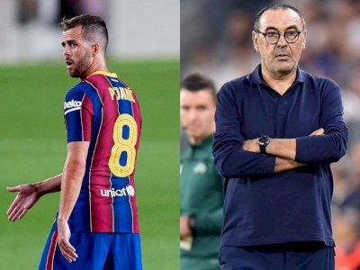 Pjanic Sesali Sikap Sarri Waktu di Juventus: Dia Tidak Mempercayai Pemainnya