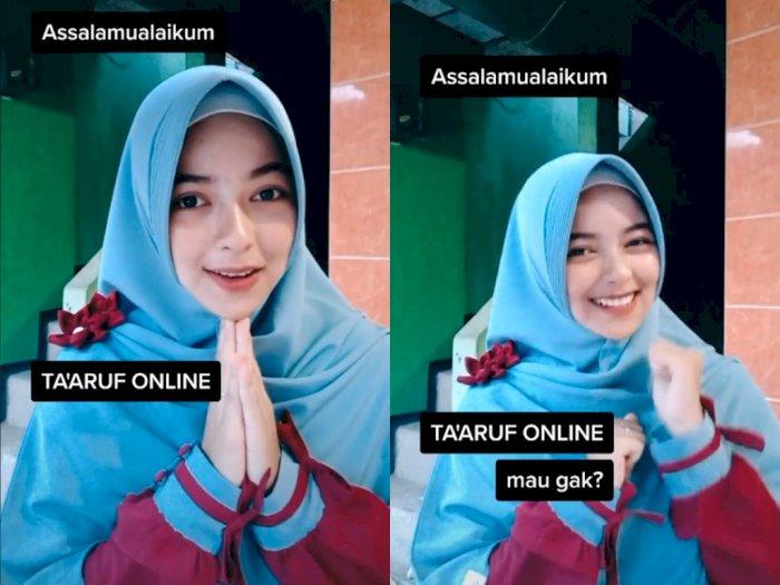 Cewek Cantik ini Ajak Taaruf Online, Bikin Netizen Cowok Kesengsem