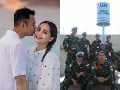 Raffi Ahmad dan Nagita Slavina dapat Ucapan Anniversary ke-6 dari Tentara di Lebanon