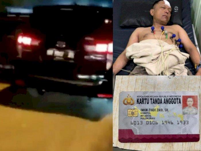 Detik-detik Kompol Iman Ziadi Ditembak Sesama Polisi Karena Bawa Sabu-sabu 16 Kg