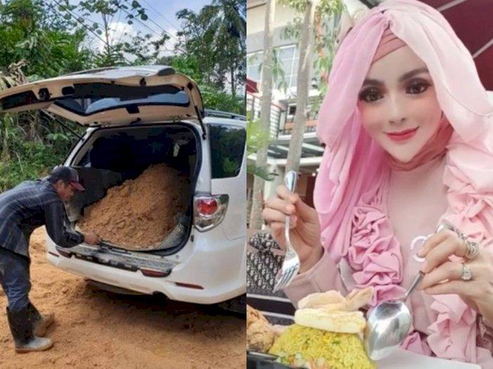 POPULER: Fortuner Dipakai untuk Angkut Tanah, Cewek Mirip Barbie Makan Nasi Kuning