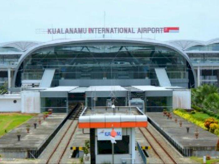 Alasan Covid-19, Tak Sampai 100 Pesawat Bergerak di Bandara Internasional Kualanamu
