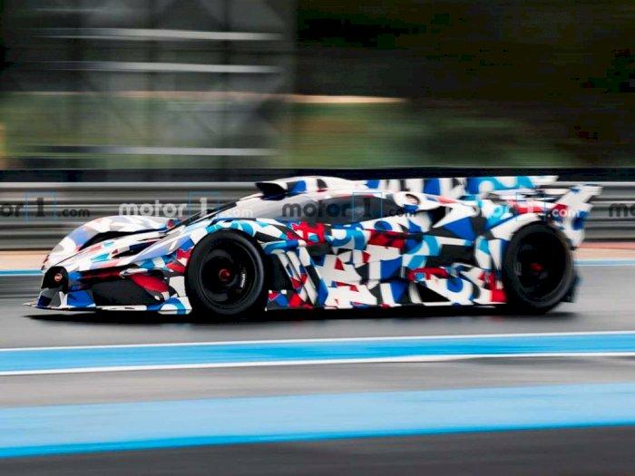Mobil Bugatti dengan Tampilan 'Misterius' Terlihat Sedang Uji Coba di Trek!