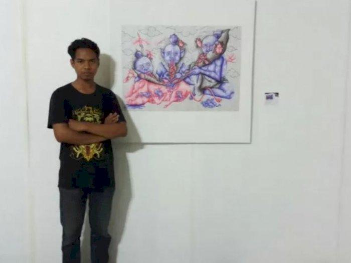 Bangga! Lukisan Mahasiswa Indonesia Tembus Pameran Internasional di Prancis dan Jerman