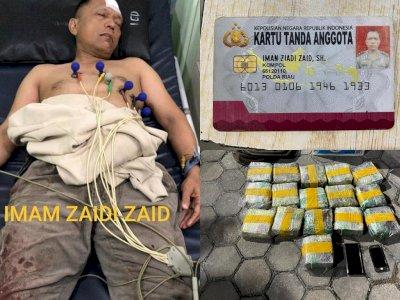 Sosok Kompol Iman Ziadi, Anggota Polda Riau yang Bawa Sabu 16 Kg, Dicap Pengkhianat Bangsa