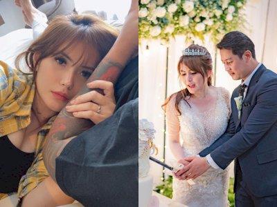 Angela Lee Posting Foto Kasur Berantakan usai Menikah, Netizen Heboh