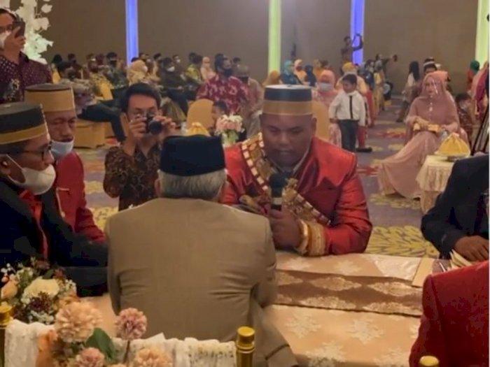 Viral Akbar 'Ajudan Pribadi' Nikah, Maharnya Rumah Mewah, 88 Riyal dan 1 Set Emas Berlian