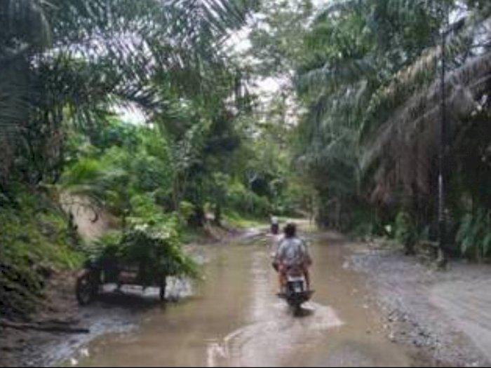 Drainase tak Berfungsi, Air Genangi Kelurahan Rengas Pulau