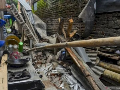 UPDATE Gempa Bumi 5,9 Magnitudo Guncang Pangandaran, 29 Unit Rumah Rusak, 3 Orang Terluka