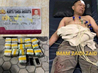 Ditembak di Punggung saat Bawa Sabu 16 Kg, Kompol Iman Ziadi Zaid Terancam Hukuman Mati