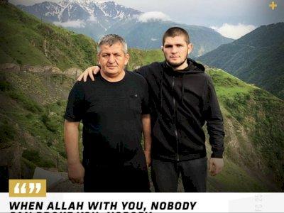 Usai Kalahkan Justin Gaethje, Khabib Nurmagomedov Umumkan Pensiun, Kenang Sang Ayah