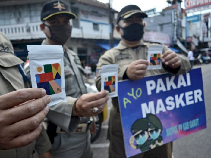 Pemprov DKI Jakarta Hasilkan Rp4,9 Miliar dari Denda Pelanggaran PSBB