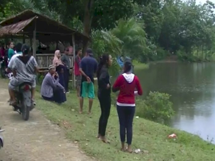 Sudah Seminggu, Warga Masih Mencari Keberadaan Tiga Bocah Hilang di Langkat