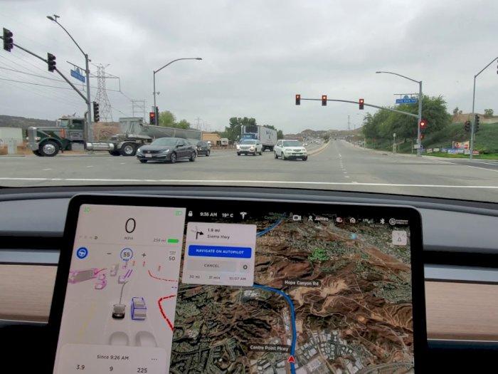 Melihat Seperti Apa Kemampuan Fitur FSD Versi Beta Terbaru dari Tesla!