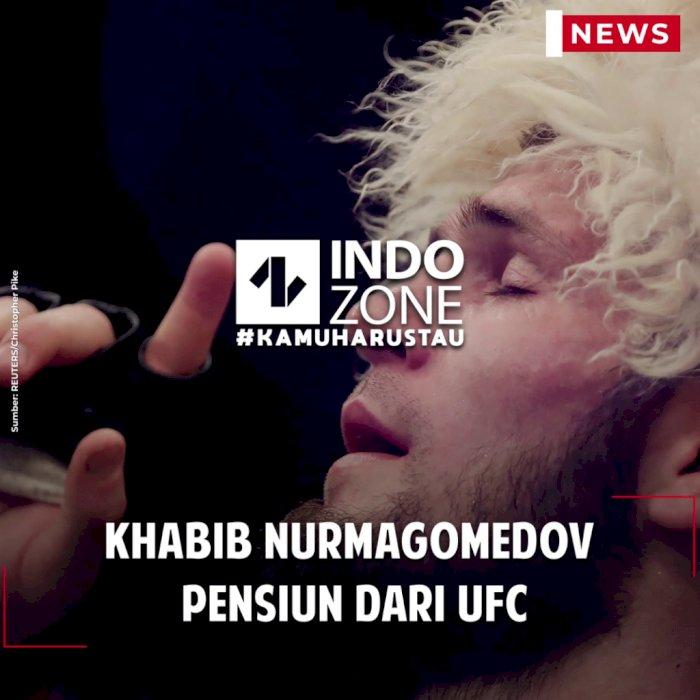 Khabib Nurmagomedov Pensiun dari UFC