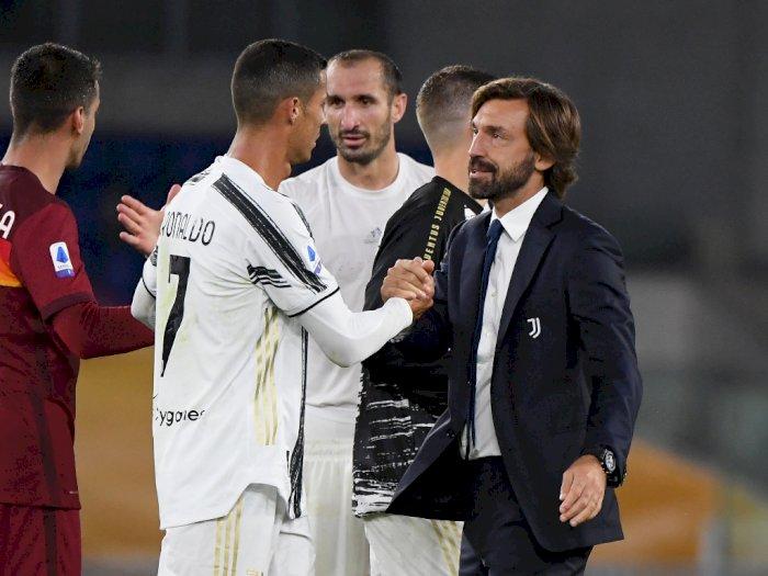 Ini Rencana Pirlo Soal Posisi Ronaldo Usai Ditahan Imbang Hellas Verona & Bonucci Cedera