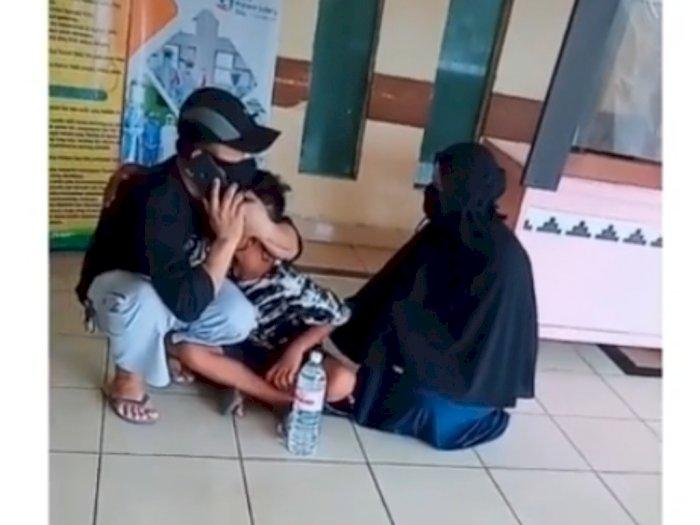 Viral Bocah Nangis Kejer Dengar Kabar Ibunya Meninggal, Netizen Ikut Sedih