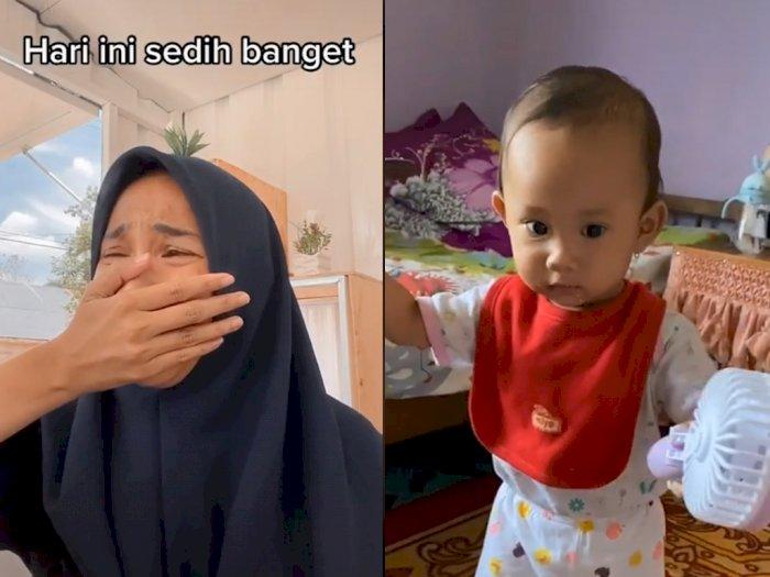 Sungguh Menyedihkan, Bayi Ini Dibotakin Neneknya, Orangtuanya Nangis