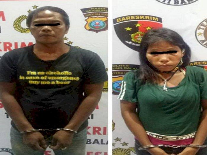 Ide Istri Rampok Perempuan Tua, Pasutri di Tanjungbalai Diamankan Petugas