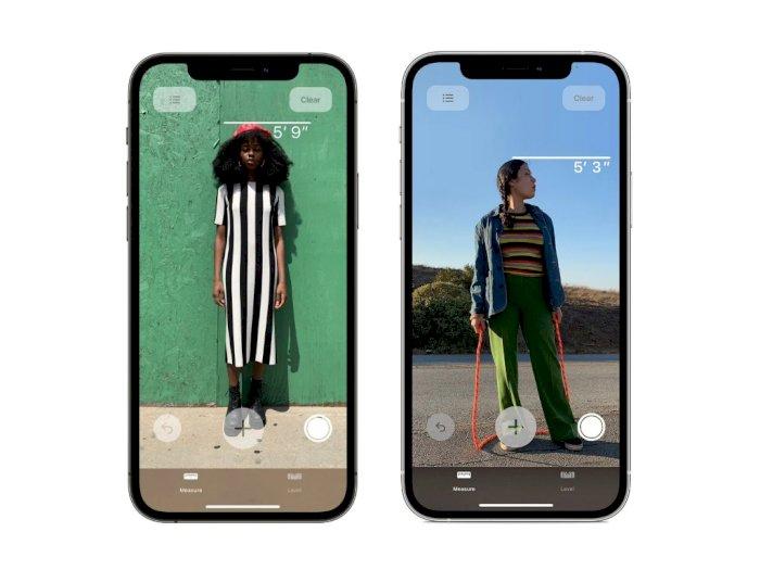 Sensor LiDAR di iPhone 12 Dapat Dipakai untuk Ukur Tinggi Badan Kamu!