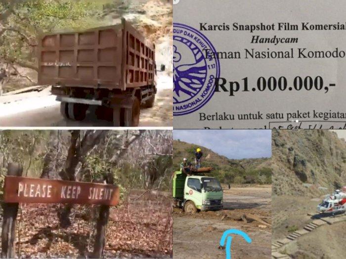 Beredar Karcis Komersial di Taman Nasional Komodo Rp1 Juta Usai Foto Komodo Vs Truk Viral