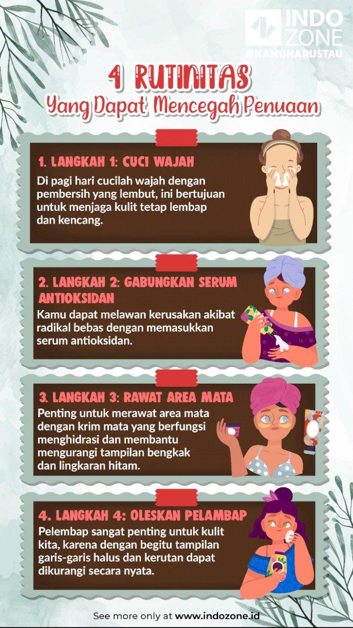 4 Rutinitas Yang Dapat Mencegah Penuaan