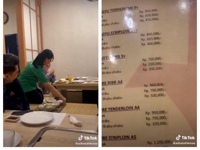 Kaget Lihat Harga Steak Hingga Rp1,1 Juta, Pembeli: Mba Ini Mau Jual Makanan Atau Jual HP?