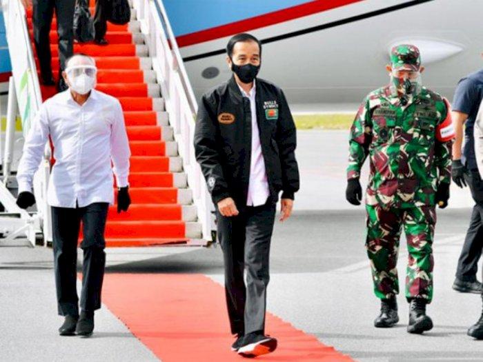 Jokowi Sebut Lumbung Pangan Sumut Jadi Contoh Provinsi Lain