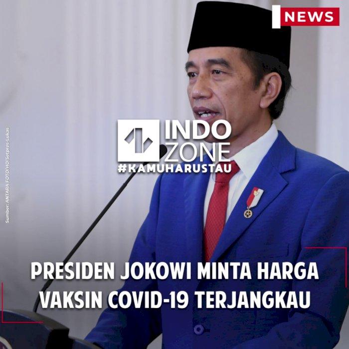 Presiden Jokowi Minta Harga Vaksin Covid-19 Terjangkau