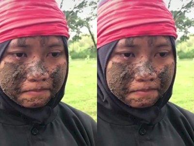 Viral Pesilat dengan Wajah Penuh Lumpur Dibentak Sampai Nangis, Netizen Kecam Seniornya