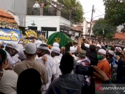 Tokoh FPI Almarhum KH Fahrurrozi Dinyatakan Terkonfirmasi COVID-19