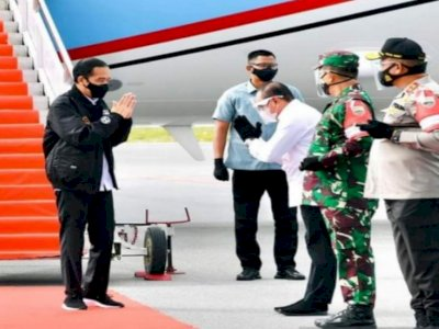 Jokowi Terbang ke Sumatera Utara, Bagikan Sertifikat Tanah dan Resmikan Lumbung Pangan