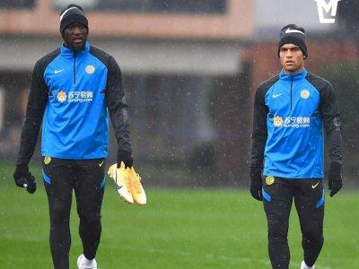 Menuju Duel Inter Shakhtar, Conte Menaruh Harapan pada Lautaro dan Lukaku