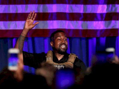 Mengaku Dapat Panggilan Jiwa, Kanye West Ingin Jadi Pemimpin Dunia
