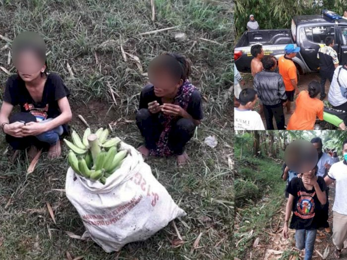 2 Pemuda Ditangkap Cuma Karena Curi Setandan Pisang, Netizen: Barang Kali Mereka Kelaparan