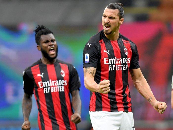 Milan 3-3 Roma: Fakta-Fakta Pertandingan dan Dua Gol Ibrahimovic