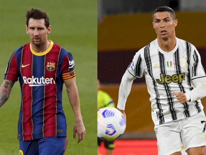 Sanjung Messi dan Ronaldo, Maradona: Belum Ada yang Mendekati Pencapaian Mereka!