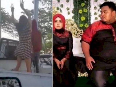 POPULER: Lagi Macet, Orang Ini Malah Joget di Mobil, Pengantin Wanita Jijik Disentuh Suami