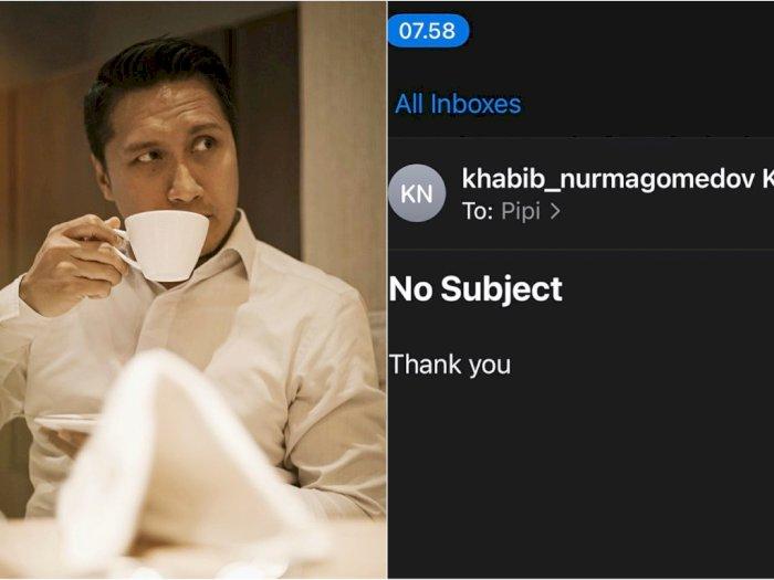 Arie Untung Dapat Email dari Manajemen Khabib Numargomedov Usai Beri Doa: Semoga Gak Prank