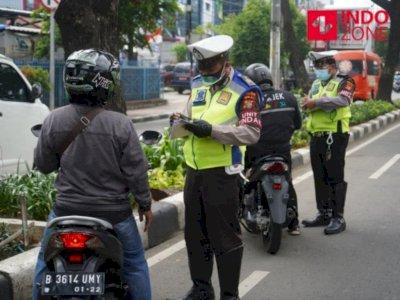 Hari Pertama Operasi Zebra di Jakarta dan Sekitarnya, 3.577 Pelanggar Ditilang