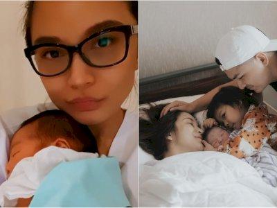 Pamer Selfie Pertama Sebagai Ibu 2 Anak, Paras Cantik Chelsea Oilivia Bikin Netizen Kagum